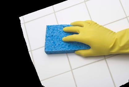 úklid v rukavicích, dezinfekce